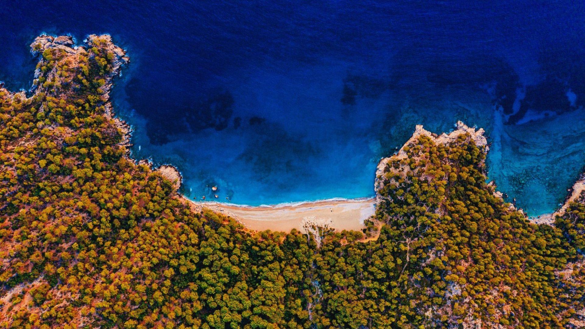 Тайни плажове в Турция: Райския залив край Бодрум (видео)