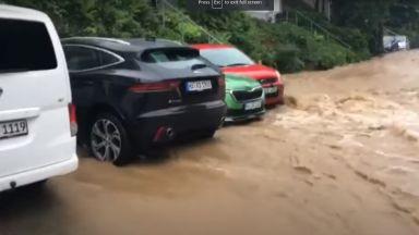 Невиждан потоп в Германия: Отнесени къщи, над 50 изчезнали и 9 загинали (видео)