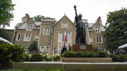 Малка Статуя на Свободата вече има и във Вашингтон