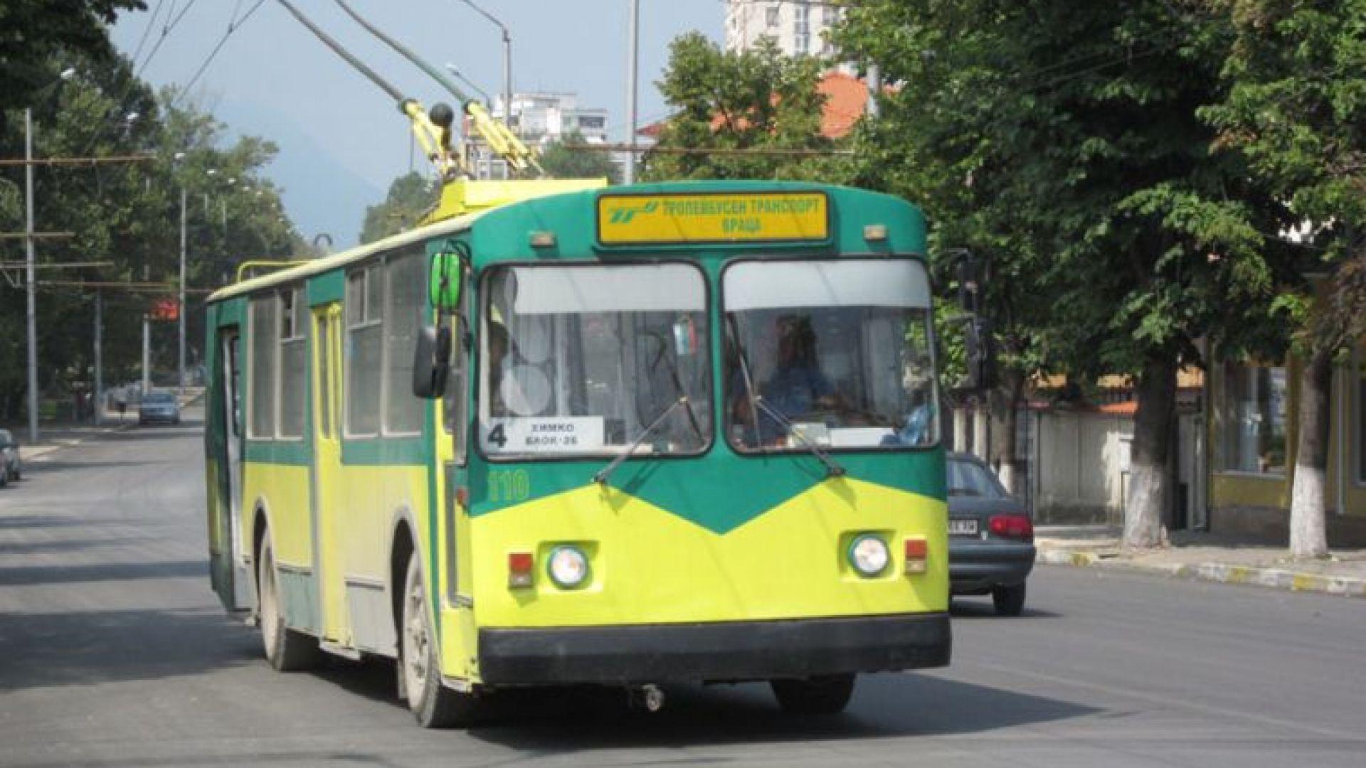 С над 500 хил. лева заем в Русе купуват швейцарски тролейбуси