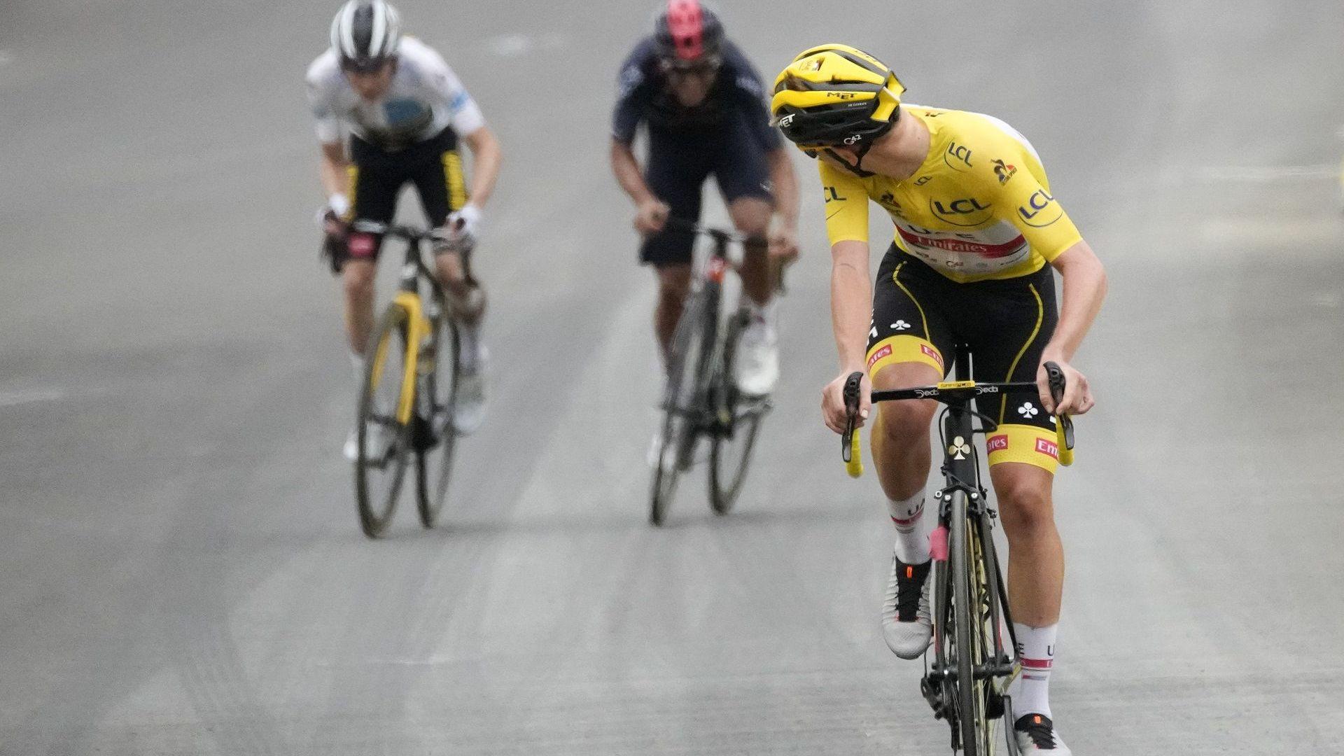 """Шампионът Погачар отново показа кой е господар на """"Тур дьо Франс"""""""