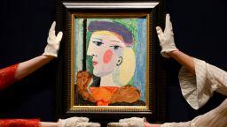 Дялове в картина на Пикасо се търгуват по 6000 долара в блокчейн продажба