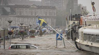 Природна стихия и в Белгия: Наводнения отнеха живота на поне 11 души (снимки/видео)