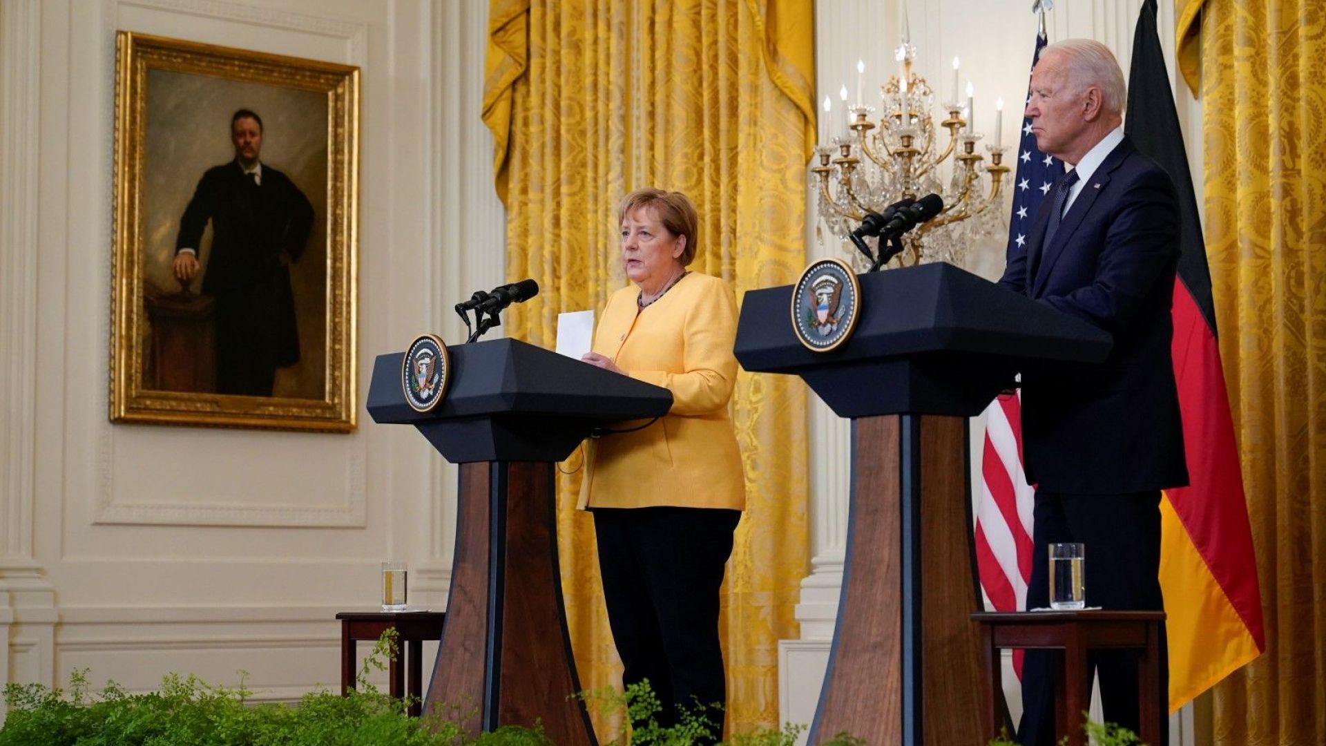 """САЩ и Германия гарантираха транзита на газ през Украйна въпреки """"Северен поток"""" 2"""