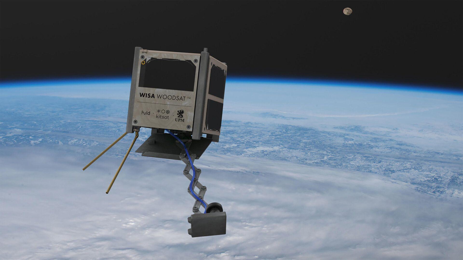 Първият дървен сателит полита в космоса тази година