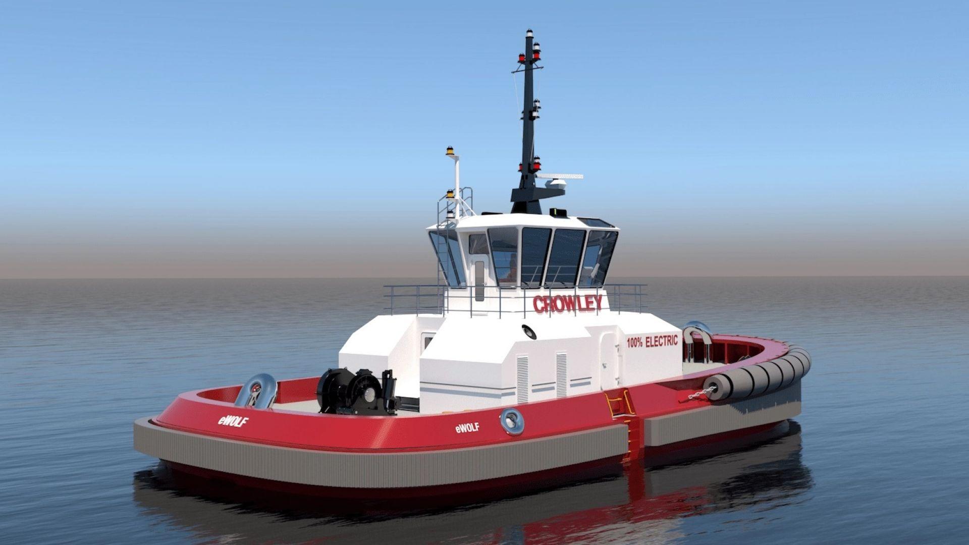 Какво знаем за един от най-иновативните електрически кораби