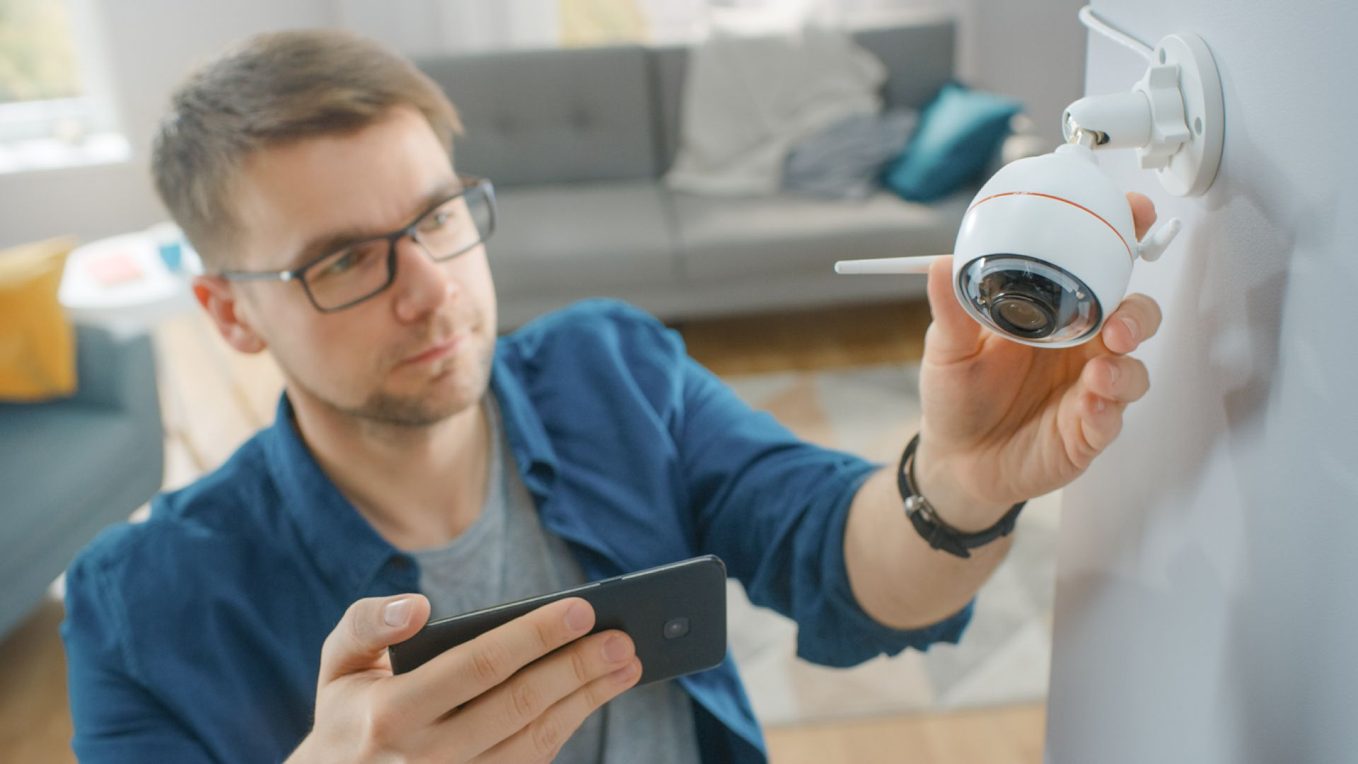 Къде да поставите камери за наблюдение у дома?