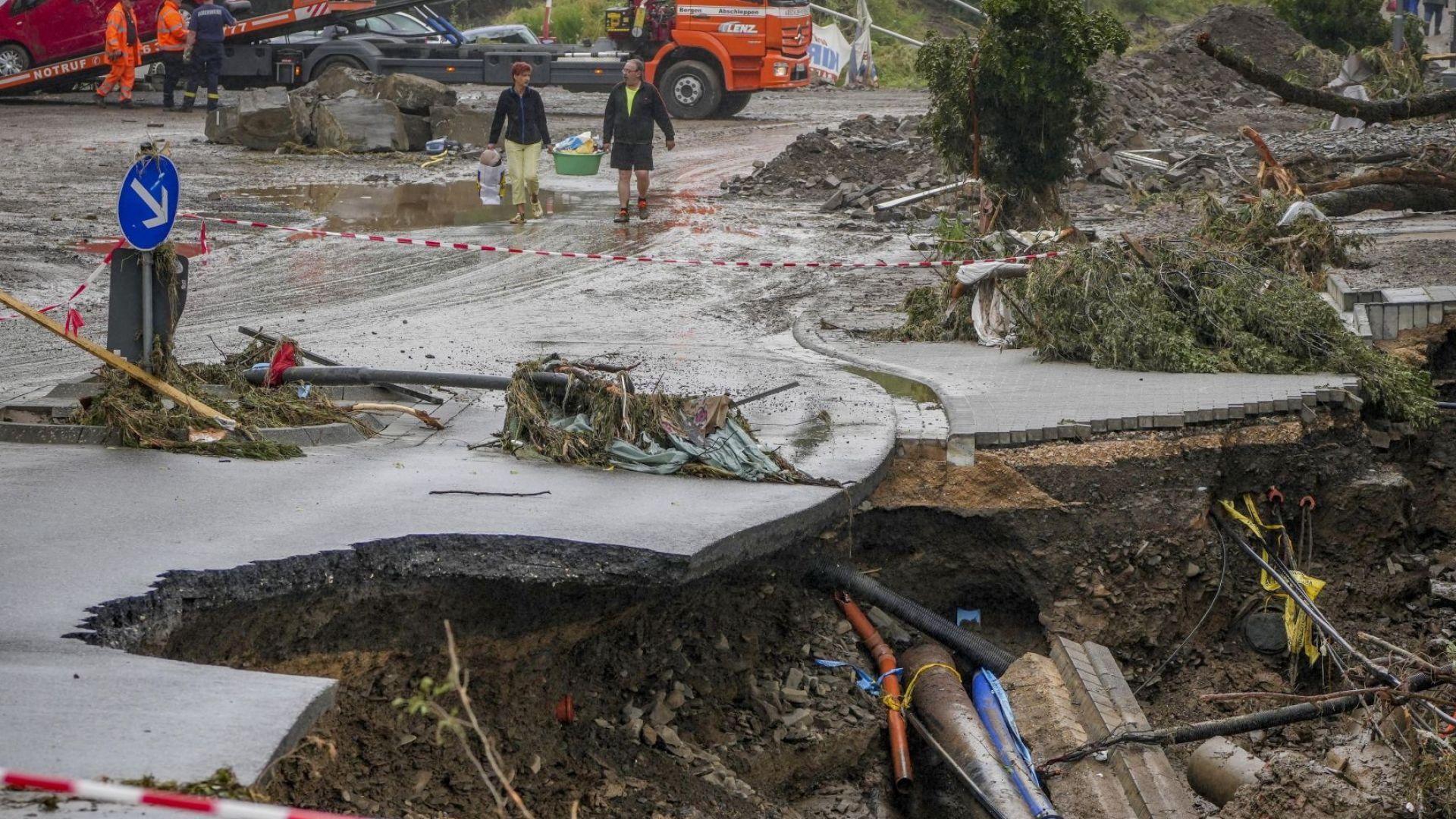 Учени предупредиха: Библейски потоп ще опустоши Европа