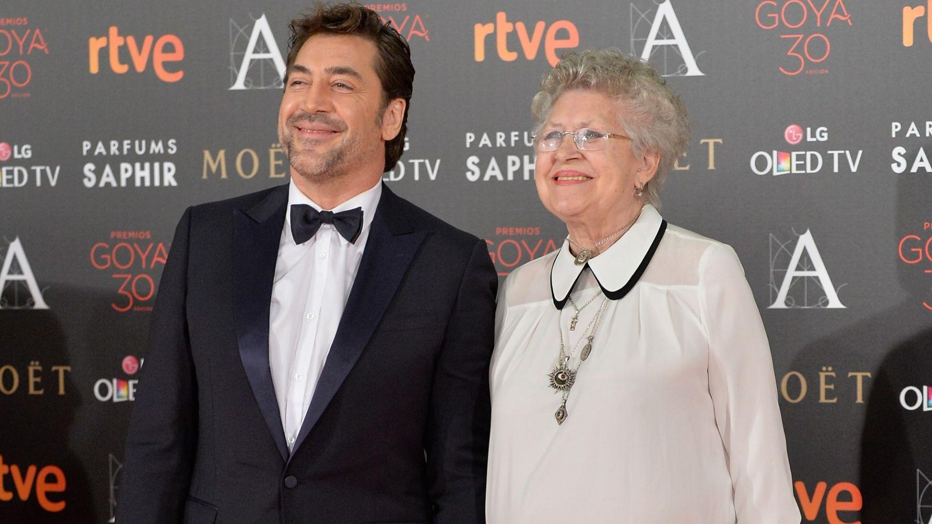 Майката на Хавиер Бардем почина на 82 години