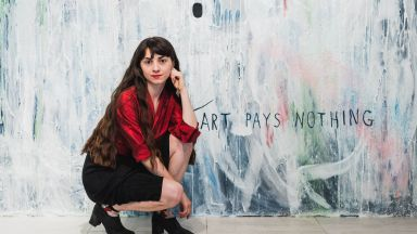 """Визуалният артист Мария Налбантова събра арт елита със своя """"A Good Deal"""""""