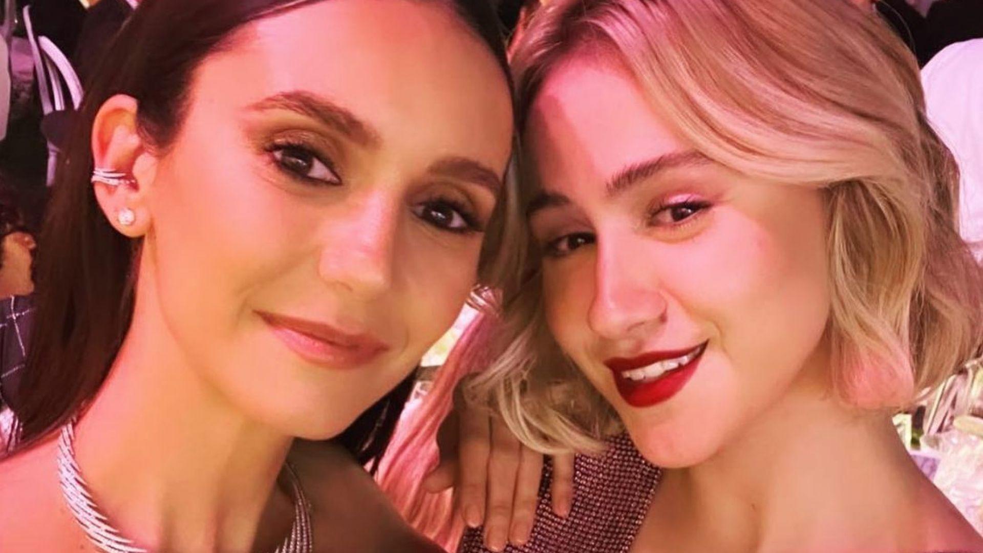 Мария Бакалова и Нина Добрев се срещнаха в Кан