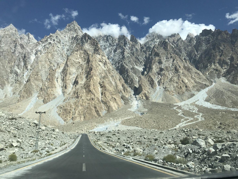 Каракорумското шосе в Пакистан