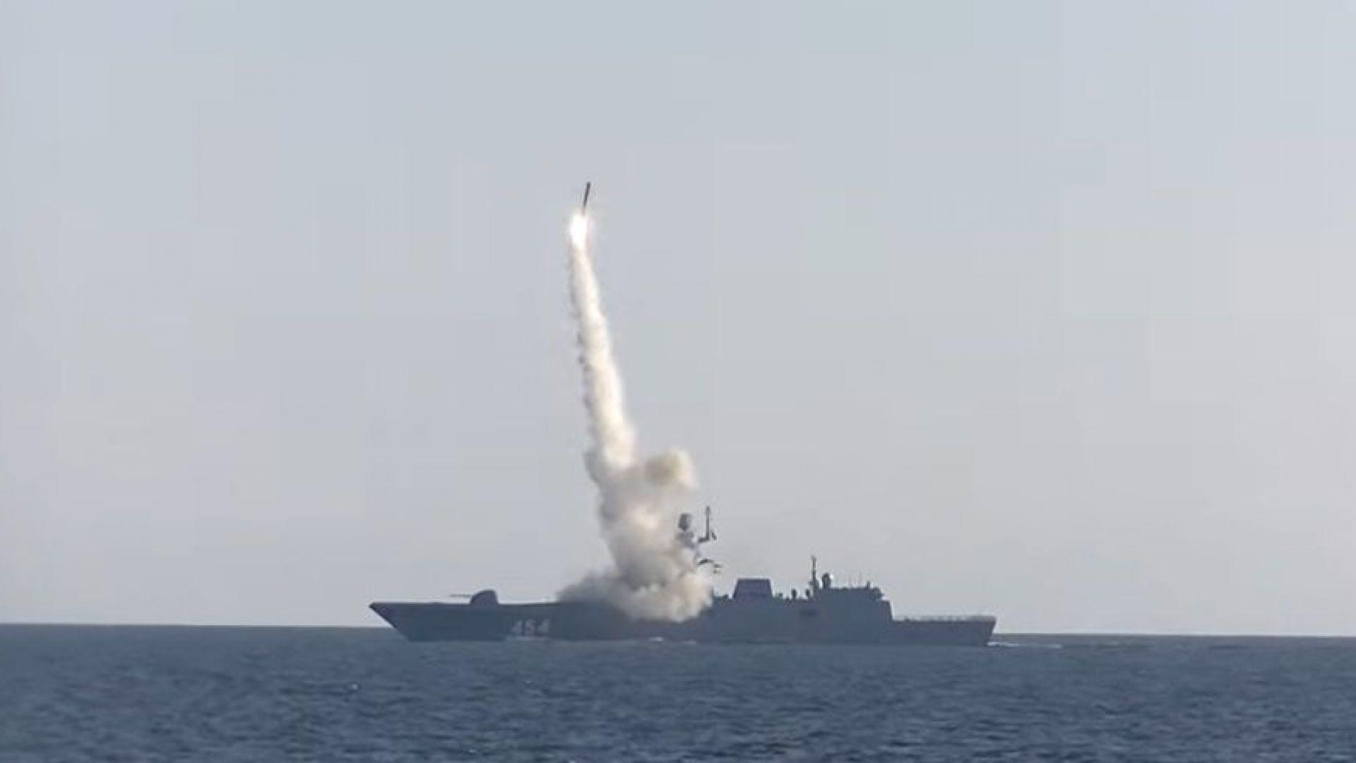 Русия успешно тества хиперзвукова ракета (видео)