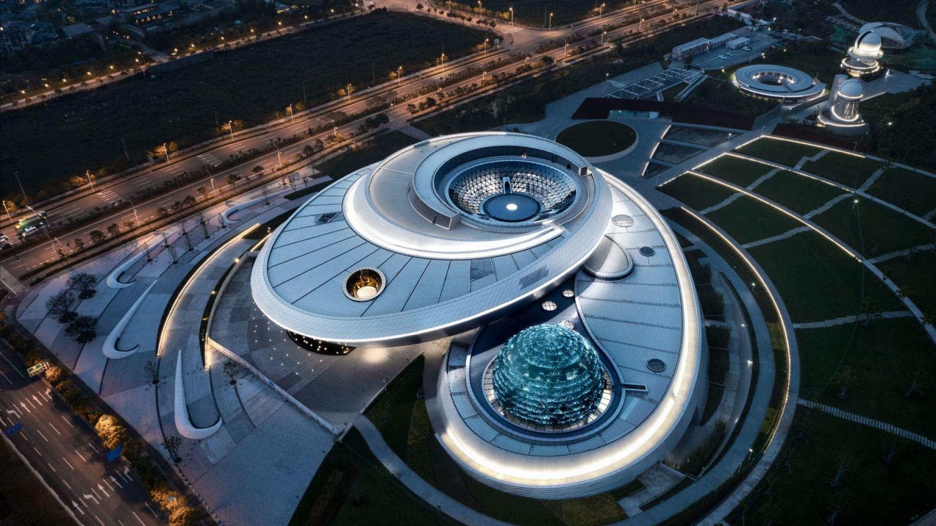 В Шанхай бе открит най-големият в света планетариум