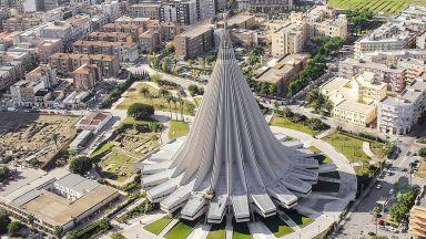 Модернизъм или чудовище? Най-необикновената църква в Сицилия