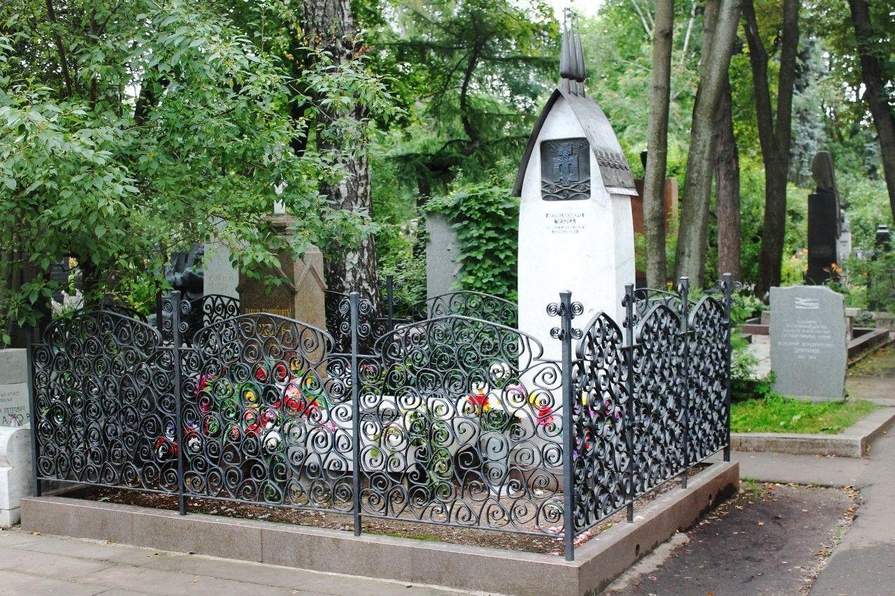 Гробът на Чехов в Новодевическо гробище