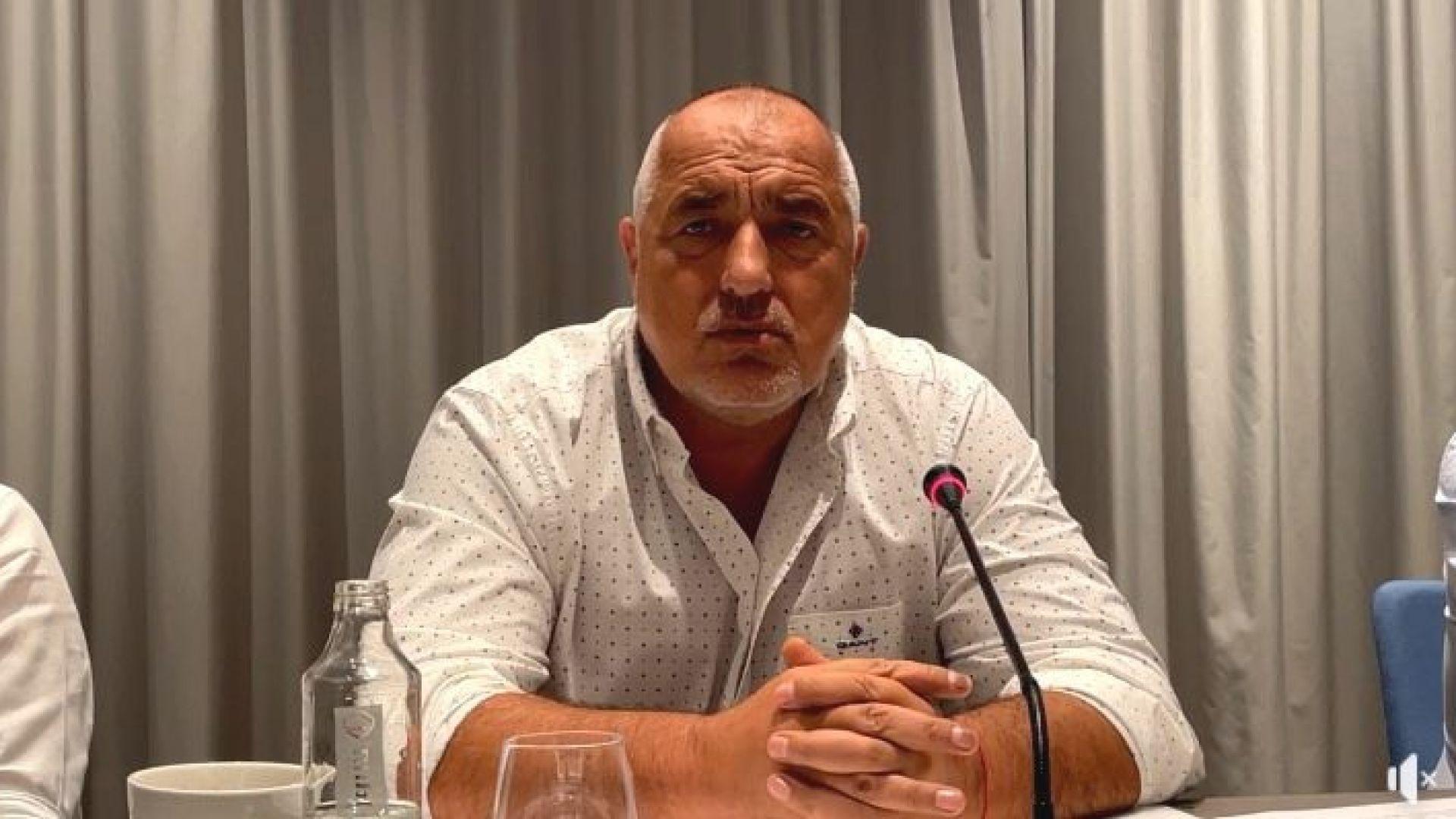 Борисов: Кацаров е просто лъжец, но Радев продължава да стои зад него (видео)