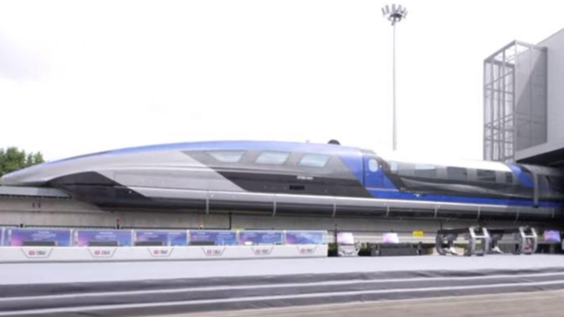 Най-бързият влак в света: китайски, който развива скорост от 600 км в час (видео)