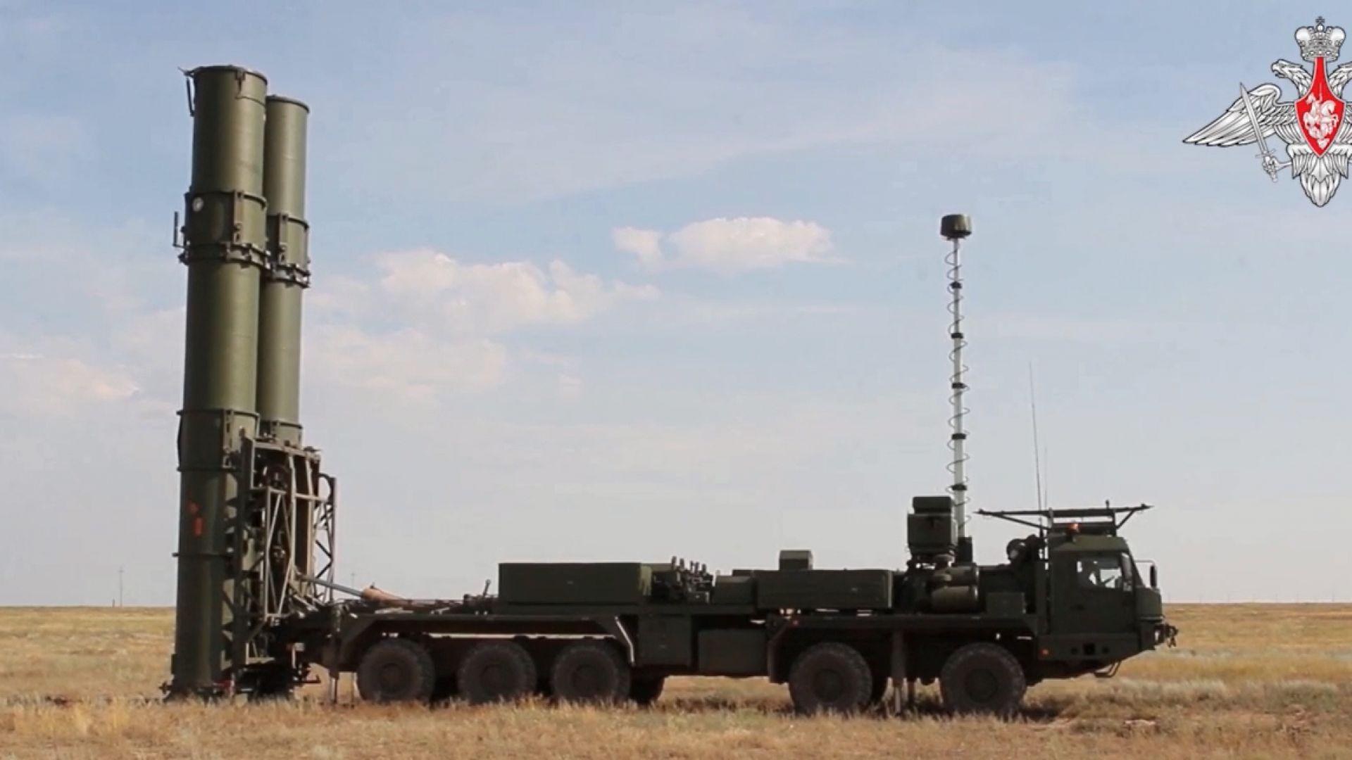 Първи изпитания за най-новата руска ПВО-система С-500 (видео)
