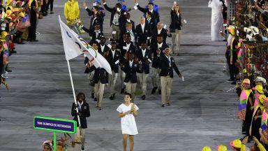Избягалите от войната: Олимпийският отбор без флаг и държава
