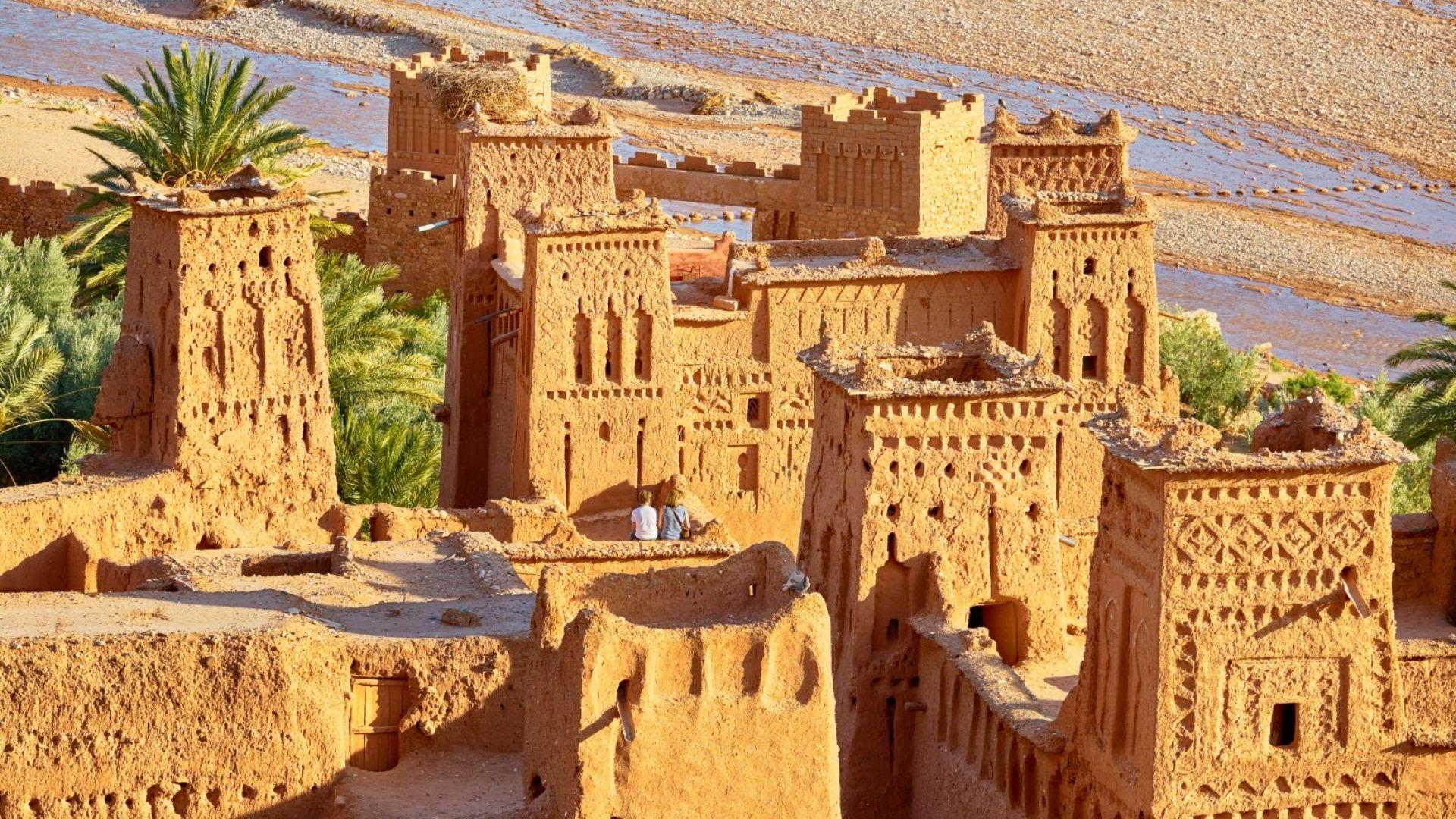 Айт Бен Хаду: най-красивото кирпичено село в Мароко (снимки)