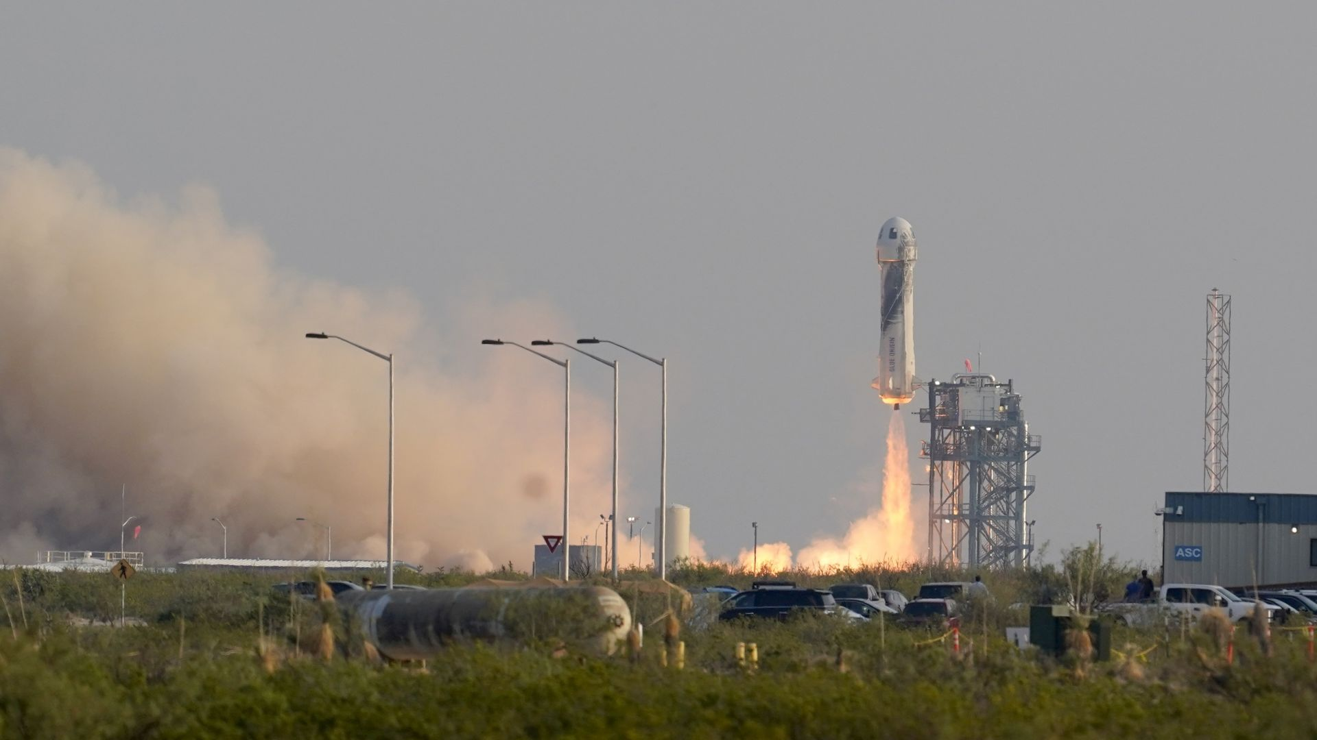Blue Origin насрочи следващия полет с космически туристи