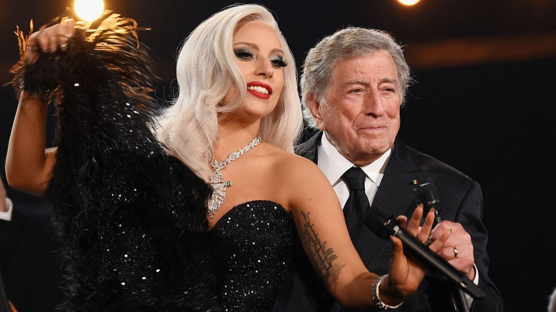 """Лейди Гага и Тони Бенет заедно """"за последен път"""" през август"""