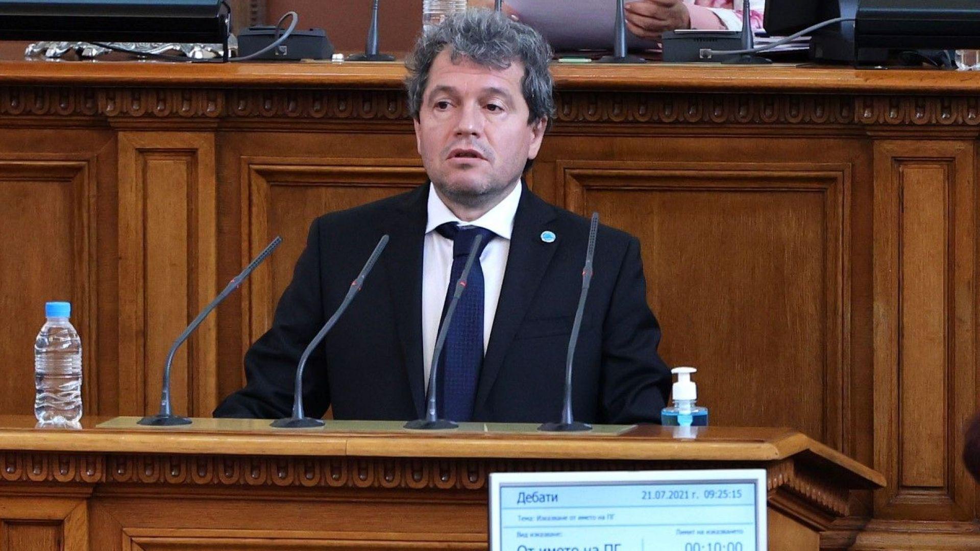 Тошко Йорданов: Нямаме различия с основните колеги, до 15 дни става ясно дали ще имаме кабинет