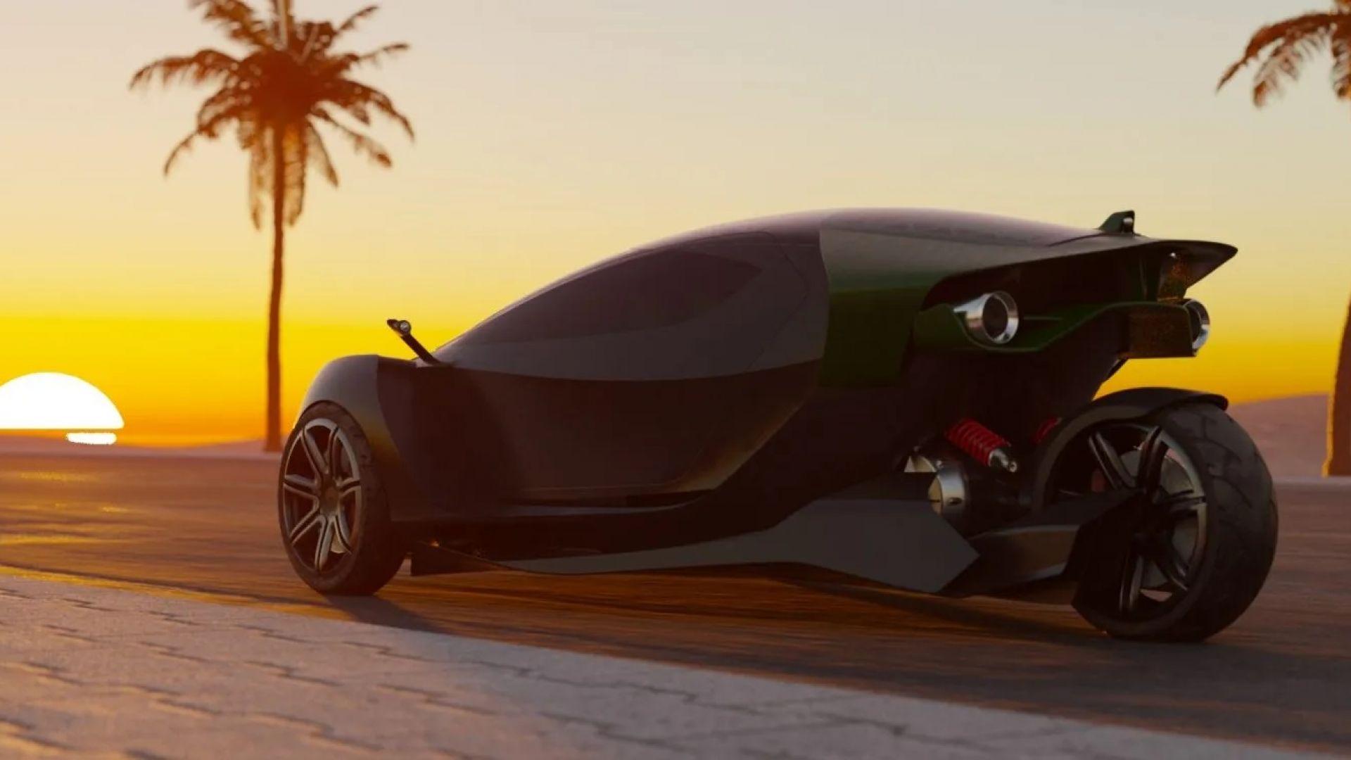 Нова електрическа кола ще добива крипто, докато се зарежда