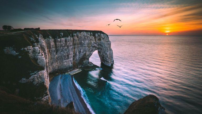 По-красиво от сън: Скалите на Етрета във Франция (снимки)