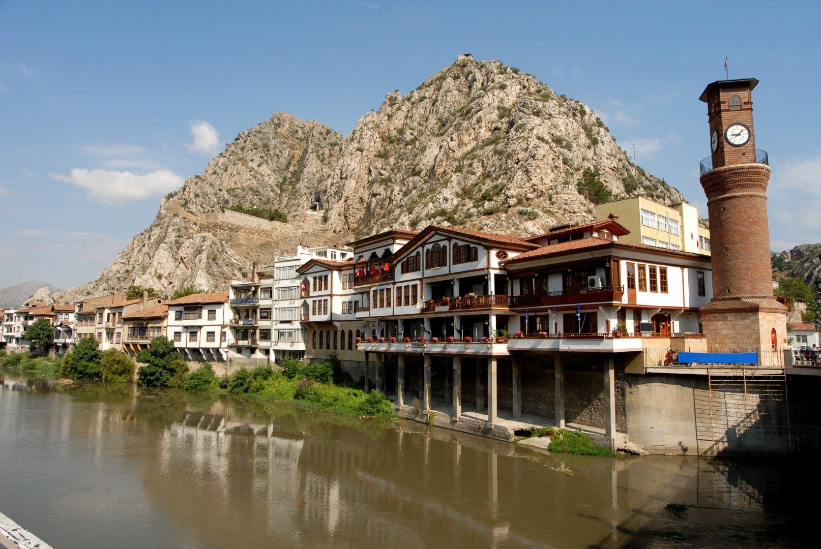 Градът на османските принцове Амася