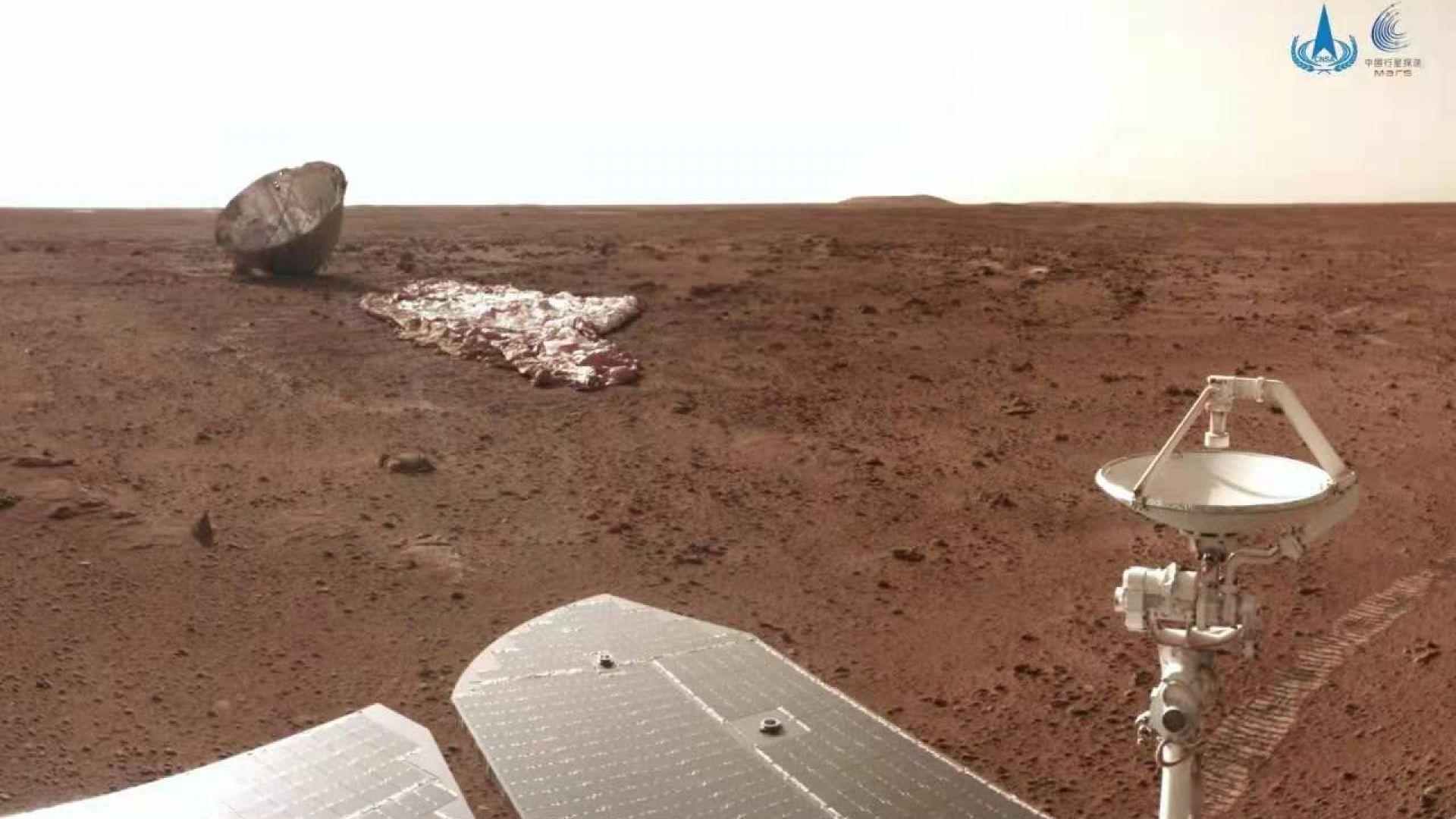 Китай показа нова порция снимки от Марс