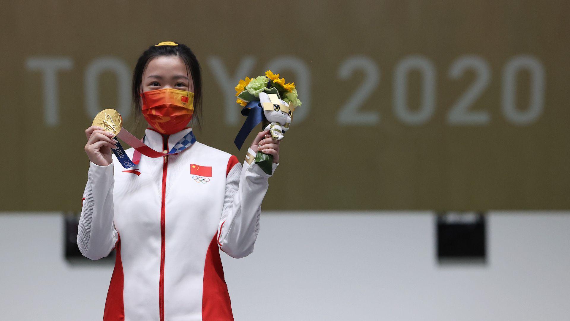 Първото олимпийско злато на Игрите в Токио е за Китай