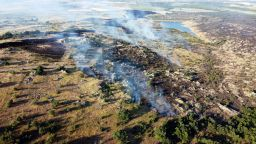 Има заподозрян за втория пожар в Сакар планина