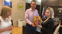 Мария Бакалова в Бургас: Чувствам се щастливо вкъщи. Кметът я прави почетен гражданин