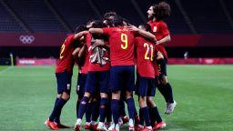 Испания и Германия взеха първи победи от олимпийския футболен турнир
