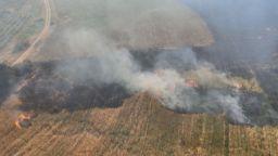 Голям пожар порази къщи и автомобили в благоевградско село