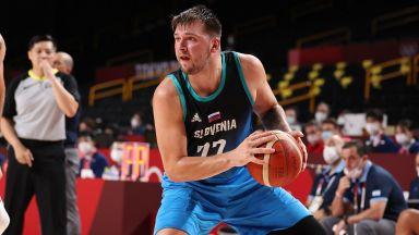 Дончич наниза 48 в олимпийския си дебют и остана на крачка от рекорд