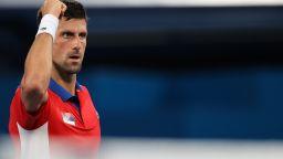 Джокович продължава по план в Токио, пак не даде сет