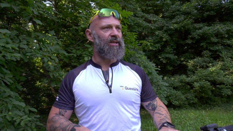 Ултрамаротонецът Краси Георгиев за срещата си с електрическото планинско колело