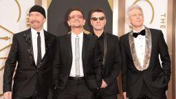 """U2 дават """"зелена светлина"""" на Боно за солова кариера"""