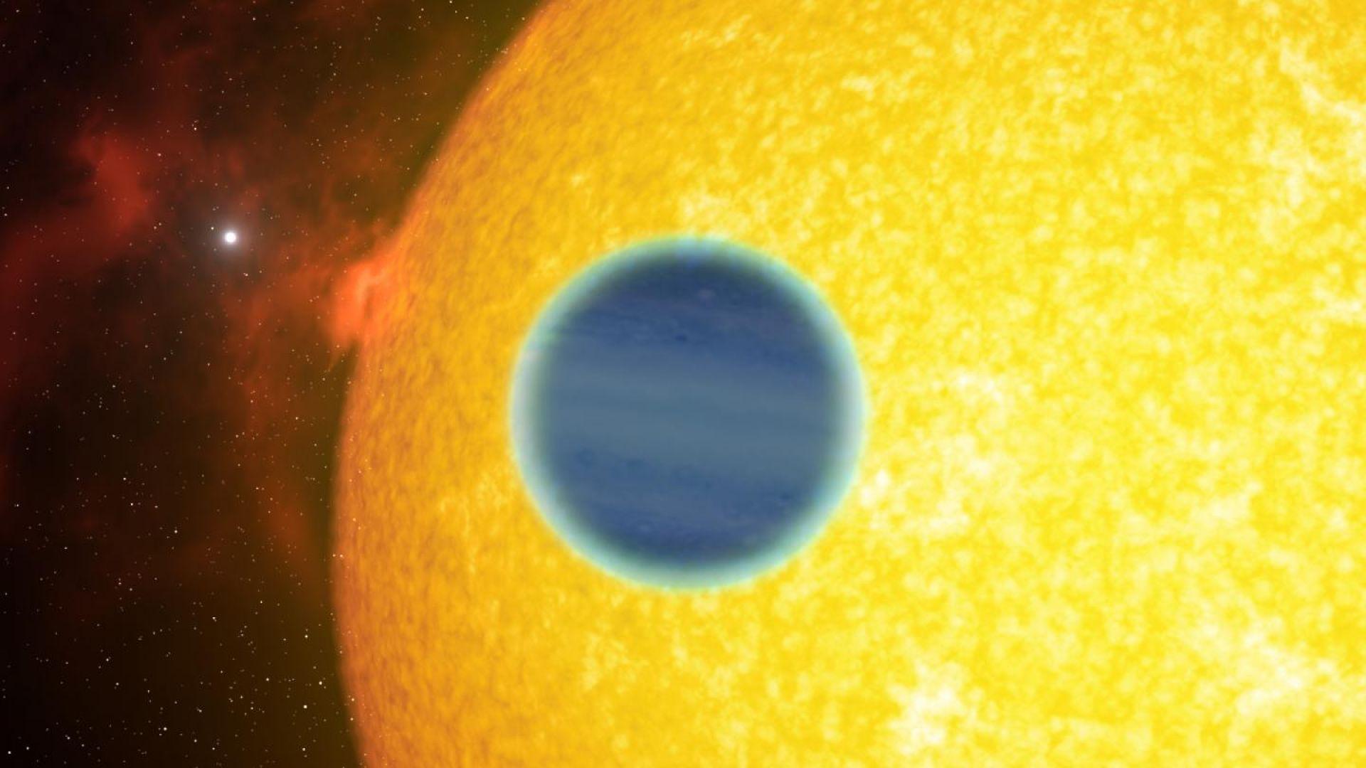 Учени изучават климата на планета в друга слънчева система