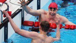 113 години по-късно, отново британец триумфира в свободния стил плуване