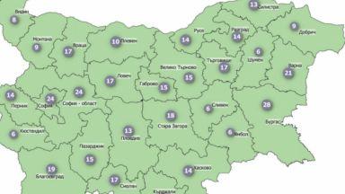 България е в зелената зона по разпространение на COVID-19