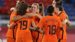 Нидерландките вкараха 21 гола в груповата фаза на олимпийския турнир