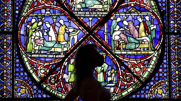 Витражи в Кентърбърийската катедрала са сред най-старите в света