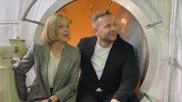 Актрисата Пересилд и режисьорът Шипенко бяха одобрени от руска здравна комисия за полет в космоса