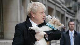 """Кучето на Борис Джонсън притеснява гостите му с """"романтични пориви"""""""