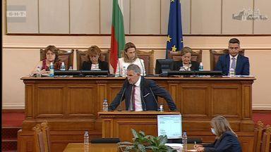 Стойчо Кацаров изброява пред депутатите грешки на предишните управляващи