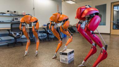 Нов вид робот пробяга 5 километра на състезание